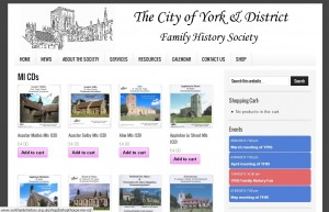 York & District Family History Society Shop